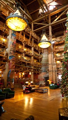 Lobby - Wilderness Lodge Walt Disney World