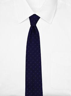 32% OFF Salvatore Ferragamo Men\'s Blocked Tie (Indigo)