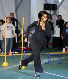 Michelle Obama: Get Up and Move! Oh yeah!!! ...TALK ABOUT LEADING BY EXAMPLE!