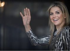 Queen Maxima attends lunch at Palace Noordeinde
