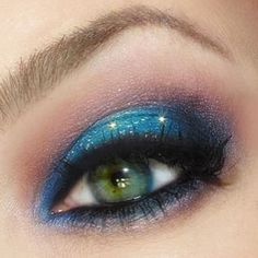 Exquisite Blue Monday look by Heidi Larsen featuring Sugarpill Afterparty, Darling, Bulletproof, Mochi and Velocity!