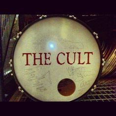 Even though a lot of people really, really love The Cult, they are, we think, still one of the most underrated bands of the last 30 years. And they signed stuff for us! So, yeah, they rock.