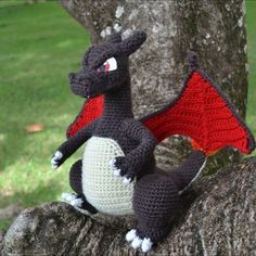[Free Pattern] There Will Certainly Be A Few Crochet Christmas Baubles On Your Christmas Tree [Free Pattern] There Will Certainly Be A Few Crochet Christmas Baubles On Your Christmas Tree! – Knit And Crochet Daily Crochet Dragon Pattern, Pokemon Crochet Pattern, Amigurumi Patterns, Crochet Patterns, Crochet Ideas, Crochet Baby, Knit Crochet, Pokemon Party, Christmas Baubles