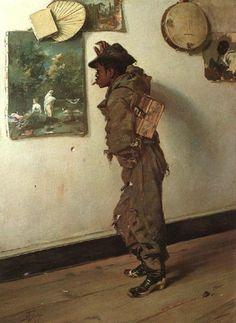Frank Buchser - Art Student or Rising Taste