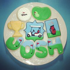 Golf Themed Cookies and Recipes | Golf Themed Cookies | Cookie Connection