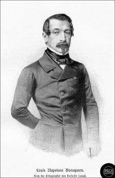 Louis Napoleon Bonaparte, 1848 - 1852 französischer Staatspräsident, 1852 - 1870 als Napoleon III. Kaiser der Franzosen