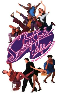 Smokey Joe's Cafe - Saw this on Broadway. Wonderful show! Broadway Plays, Broadway Shows, Broadway Posters, Movie Posters, Smokey Joe's Cafe, Window Cards, Stage Show, Theatre, Musicals