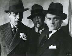 Humphrey Bogart, Al Hill and James Cagney, The Roaring Twenties, 1939.