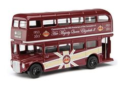 Routemaster Bus (Queen Elizabeth II - 60th Anniversary of the Coronation)