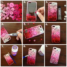 "DIY For the Day ""Pretty Mobile Phone Case..."" #teelieturner #DIY #teeliturnershoppingnetwork www.teelieturner.com"