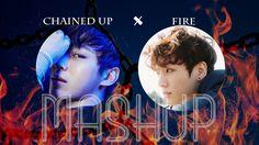 VIXX x BTS mashup - FIRED UP Bts Bangtan Boy, Jimin, Vixx Ken, Rap Monster, Funny Pictures, Fire, Kpop, Movie Posters, Boys