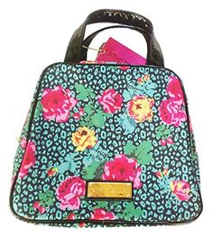Deal Betsey Johnson Tea Time Dome Lunch Tote Bag