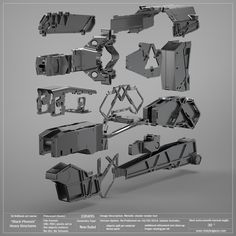 Black Phoenix: Heavy Structural Parts. 50% OFF! — Vitaly Bulgarov