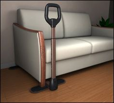 The Couch Cane ADA Stander makes it easier to stand up from a chair or sofa