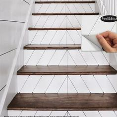 Foyers, Staircase Makeover, Stair Redo, Redo Stairs, Staircase Remodel, Stair Railing, Stairs Upgrade, Tiled Staircase, Basement Stairs