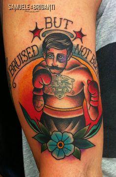 Artist Profile: Samuele Briganti Locatio: Orbetello, Italy. #tattoo #ink #tatts…