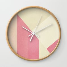 Check out society6curated.com for more! @society6 #art #design #creativity #creative #home #decor #homedecor #clocks #time #apartment #apartmenttherapy #homesweethome #sophomore #sophomoreyear #apartmentgoals #buy #shop #shopping #sale #gift #idea #gifting #giftidea #fun #cool #sweet #awesome #abstract #abstraction #pink #white #geometric #yellow #red