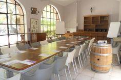 Salle de sous commission au château du Tarn