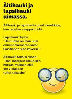 Vitsit: Äitihauki ja lapsihauki uimassa - Kohokohta.com Le Pilates, Finland, Lol, Movies, Movie Posters, Films, Film Poster, Cinema, Movie