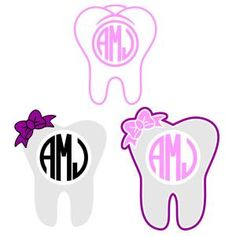 Dental Tooth Dentist with Bow Round Circle Monogram Cuttable Design Cut File. Vector, Clipart, Digital Scrapbooking Download, Available in JPEG, PDF, EPS, DXF and SVG. Works with Cricut, Design Space, Sure Cuts A Lot, Make the Cut!, Inkscape, CorelDraw, Adobe Illustrator, Silhouette Cameo, Brother ScanNCut and other compatible software.