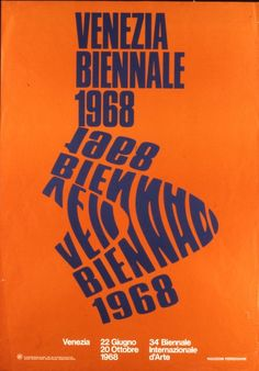 1968_Biennale di Venezia poster