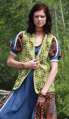 crocheted vests