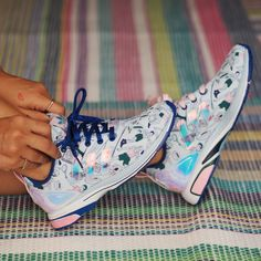 new concept 64445 7f47c mary katrantzou X adidas MK zx flux tech sky pink royal photo by