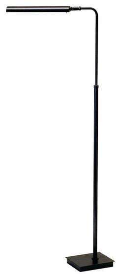 House of Troy G300 Generation 1 Light LED Pharmacy Floor Lamp Black Lamps Floor Lamps Swing Arm Lamps