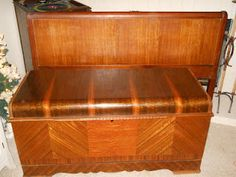 Antique Lane Cedar Chest & Headboard