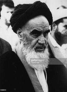 1979: Ayatollah Ruhollah Khomeini (1900 - 1989), the Iranian religious and political leader.