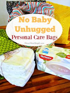 Put together No Baby Unhugged Personal Care Bags for Moms in Need this holiday season. Every purchase at Meijer stores helps! #ad #NoBabyUnhuggedCB