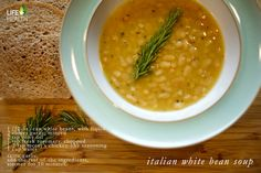 italian white bean soup (easiest recipe ever!) #vegan