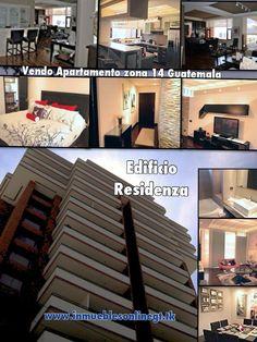 Vendo apartamento zona 14 Guatemala City Edificio Residenza 1 Dormitorio 1.5 bańos 1 Parqueo Edificio moderno con piscina climatizada, salon social, gym, parqueo visitas, motor lobby, sistema de circuito cerrado de seguridad, 1500 varas de jardin y mas. Venta $250000  Alquiler con muebles $1500 /mes codigo va4024 Visitas anaurrutia@live.com en facebook Bienes Inmuebles GT www.inmueblesonlinegt.tk t. 53002536 51844209