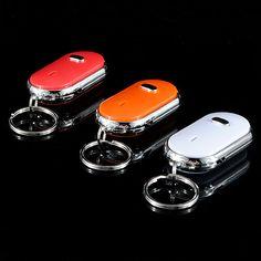 Whistle Key Finder Find Your Keys Keyring Keychain Sound LED With Whistle Claps - US$0.90 - Banggood Mobile