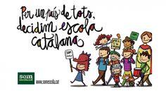 Per un país de tots, decidim escola catalana.