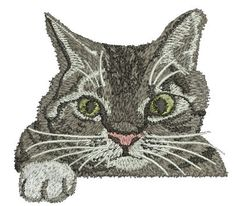 cat for pocket - Machine Embroidery Designs