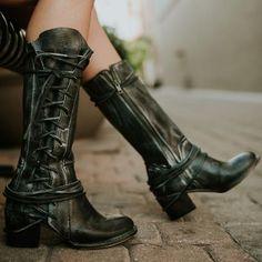 womens freebird cash black boot