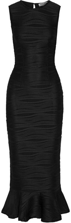 Opening Ceremony Lotus Textured Stretch-Jersey Dress