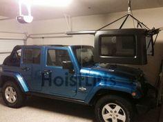 Delightful Jeep JK HardTop Lift