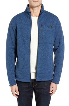 The North Face 'Gordon Lyons' Zip Fleece Jacket available at #Nordstrom