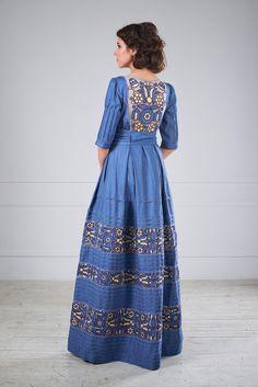 Вечірня сукня з вишивкою, фото 1 Дизайн-студія Оксани Полонець