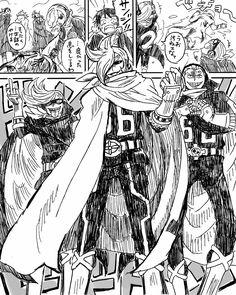 One Piece, Vinsmoke family, Ichiji, Niji, Yonji