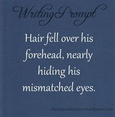 Writing prompt.