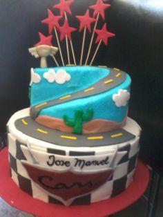 #cars#cake#fondant#pastel