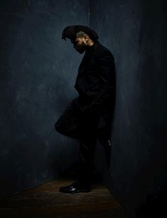 GRAMMY winner The Weeknd photographed by Danny Clinch backstage at the 58th GRAMMY Awards.