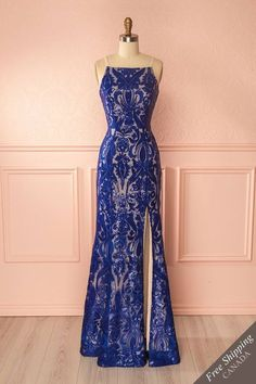 Prom dress,bridesmaid dress,royal blue prom dress new arrival lace mermaid prom women's fashion