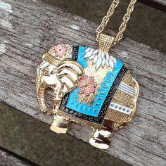 """Spotted while shopping on Poshmark: """"Stylish Golden Elephant""""! #poshmark #fashion #shopping #style #Jewelry"""