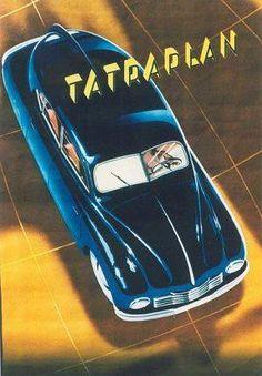 One Sheet, Czechoslovakia, Automobile, circa Artist: Neubert, Vintage Poster Vintage Advertisements, Vintage Ads, Vintage Posters, Vintage Dress, Classic European Cars, Classic Cars, Car Posters, Travel Posters, Vintage Motorcycles