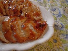 Easy To Be Gluten Free | Baked Apple & Honey Glazed Chicken-Tom really enjoyed this one. I think it is a great fall/winter dish. Quite sweet. I may be able to cut down the brown sugar just a bit.