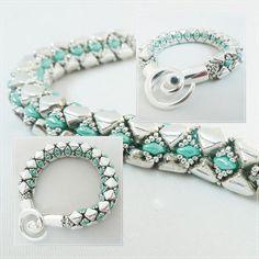 KIT diy bracelet et collier SILKA par PASSIONPERLINE sur Etsy
